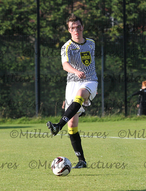 Sean Kelly in the St Mirren v Dundee Scottish Professional Football League Development League match played at Ralston Training Ground,, Paisley on 19.8.14.