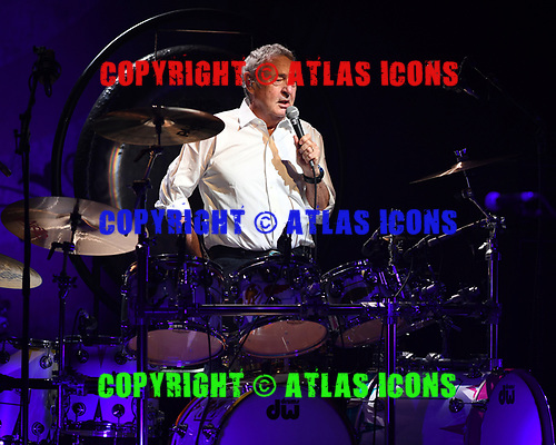 MIAMI BEACH, FL - MARCH 27: Nick Mason performs during Nick Mason's Saucerful of Secrets Tour at the Fillmore on March 27, 2019 in Miami Beach, Florida. Credit Larry Marano © 2019
