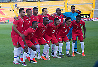 BOGOTA - COLOMBIA, 03-06-2019: Jugadores de Panamá posan para una foto previo al partido amistoso entre Colombia y Panamá jugado en el estadio El Campín en Bogotá, Colombia. / Players of Panama pose to a photo prior a friendly match between Colombia and Panama played at Estadio El Campin in Bogota, Colombia. Photo: VizzorImage/ Gabriel Aponte / Staff