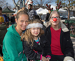 The MacGregor/Brown family during the Sparks Hometowne Christmas Parade held on Saturday, December 2, 2017.