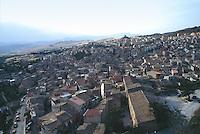 - view of Corleone town (Palermo)....- veduta della città di Corleone (Palermo)