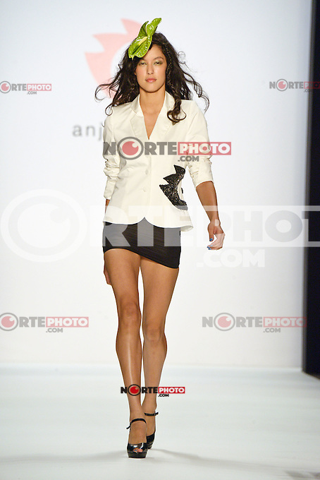 "Model Rebecca Mir walks the runway at the ""Anja Gockel"" fashion show during the Mercedes-Benz Fashion Week Berlin in Berlin, 06.07.2012...Credit: Timm/face to face /MediaPunch Inc. ***FOR USA ONLY*** ***Online Only for USA Weekly Print Magazines***"