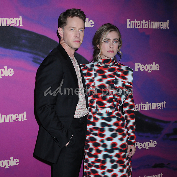 13 May 2019 - New York, New York - Josh Dallas and Melissa Roxburgh at the Entertainment Weekly & People New York Upfronts Celebration at Union Park in Flat Iron. Photo Credit: LJ Fotos/AdMedia