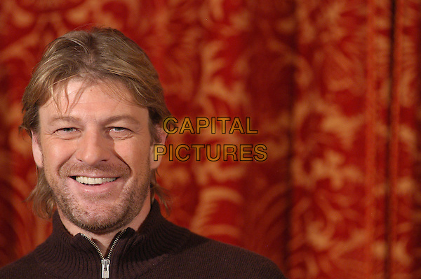 "SEAN BEAN.Photocall for ""North Country"" at Hotel St. Regis, Rome, .Italy..February 6th, 2006.Ref: CAV.headshot portrait stubble facial hair.www.capitalpictures.com.sales@capitalpictures.com.© Capital Pictures."