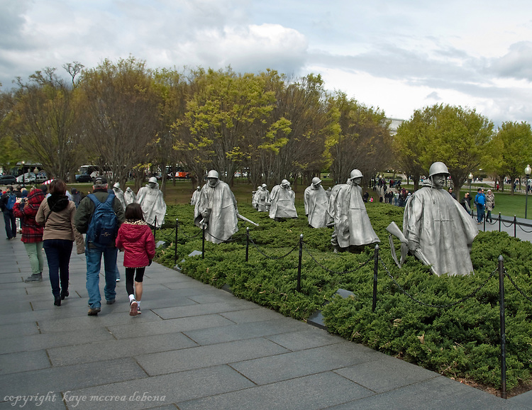 Washington DC Monuments and Memorials Korean War Memorial