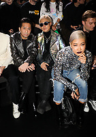Hiro , Vernal and Yoon in the front row<br /> Dior Homme show, Front Row, Pre Fall 2019, Tokyo, Japan - 30 Nov 2018<br /> CAP/SAT<br /> &copy;Satomi Kokubun/Capital Pictures