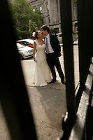 Montreal (Qc) Canada - June 17 2009 -..Model Released photos - Wedding dresses