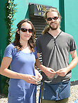 Amandine Pelletier and Matt McEvoy pictured at the Old Schoolhouse market. Photo:Colin Bell/pressphotos.ie