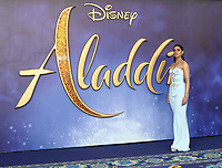 Naomi Scott at the Aladdin European Gala Screening at the Odeon Luxe Leicester Square, London on May 9th 2019<br /> CAP/ROS<br /> ©ROS/Capital Pictures