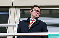 Ben Hatton, Blackpool FC Managing & Executive Director.  <br /> <br /> Photographer Andrew Kearns/CameraSport<br /> <br /> The EFL Sky Bet League Two - Bristol Rovers v Blackpool - Saturday 2nd March 2019 - Memorial Stadium - Bristol<br /> <br /> World Copyright © 2019 CameraSport. All rights reserved. 43 Linden Ave. Countesthorpe. Leicester. England. LE8 5PG - Tel: +44 (0) 116 277 4147 - admin@camerasport.com - www.camerasport.com