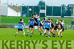 Action from IT Tralee v Carlow IT in the Sigerson Cup R1 football game in Austin Stack Park on Sunday.