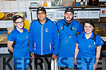 Staff at Dominos Pizza, Tralee.<br /> L-r, Emma Campbell, Majed Baig, Peter Kawka (Manager) and Sophie O&rsquo;Sullivan.