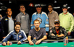 The Final Table Eight of the Main Event