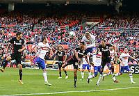 Washington, D.C. - Saturday, April 16, 2016: Toronto FC defeated DC United 1-0 in a MLS match at RFK Stadium.