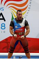 Cocha 2018 Pesas 85kg