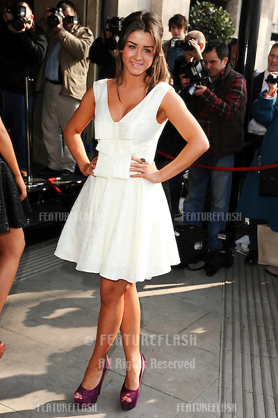 Brooke Vincent attending The TRIC Awards at The Grosvenor House Hotel, London. 08/03/2011 Picture by: Steve Vas / Featureflash