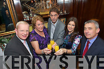 Shannon Development held a celebration dinner for Mike Fitzgerald Altobridge after winning the Ernst and Young emerging Entrepreneur of the year, from left Shannon Development Chief Executive, Vincent Cunnane, Mary Dolan, Shannon Development , Mike Fitzgerald, Marie Lynch, Shannon Development  and Ogie Moran, Shannon Development.