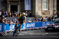 Dmitriy Noskov (KAZ)<br /> Men Junior Individual Time Trial<br /> <br /> 2019 Road World Championships Yorkshire (GBR)<br /> <br /> ©kramon