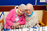 Bernadette and Frank Buckley celebrating their 65th wedding anniversary in the Oaklands Nursing Home in Listowel on Tuesday.