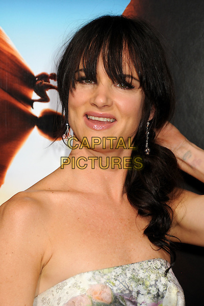 "JULIETTE LEWIS .""127 Hours"" Los Angeles Premiere held at the AMPAS Samuel Goldwyn Theater, Beverly Hills, California, USA..November 3rd, 2010.headshot portrait strapless fringe bangs grey gray white hand tattoo .CAP/ADM/BP.©Byron Purvis/AdMedia/Capital Pictures."