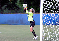 Florida International University women's soccer player Kaitlyn Savage (00) plays against the University of Florida on August 21, 2011 at Miami, Florida. Florida won the game 2-0. .