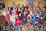 21st birthday celebrations for Eoin Kennedy from Asdee, pictured here(3rd from left) last Saturday night with many family and friends in The Store Bar, Asdee.