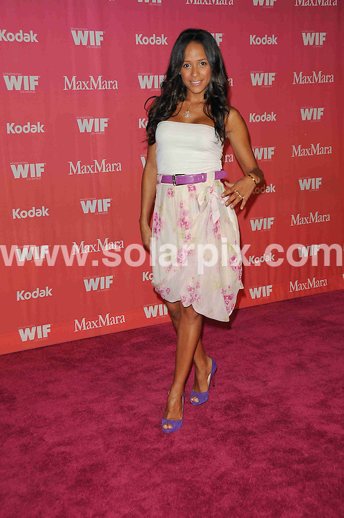 **ALL ROUND PICTURES FROM SOLARPIX.COM**.**SYNDICATION RIGHTS FOR UK, AUSTRALIA, DENMARK, PORTUGAL, S. AFRICA, SPAIN & DUBAI (U.A.E) ONLY**.arrivals for the Women In Film 2009 Crystal + Lucy Awards. Held at The Hyatt Regency Century Plaza Hotel, Los Angeles Ballroom, Los Angeles, CA, USA. 12 June 2009..This pic: Dania Ramirez..JOB REF: 9258 PHZ (Charlotte)   DATE: 12_06_2009.**MUST CREDIT SOLARPIX.COM OR DOUBLE FEE WILL BE CHARGED**.**ONLINE USAGE FEE GBP 50.00 PER PICTURE - NOTIFICATION OF USAGE TO PHOTO @ SOLARPIX.COM**.**CALL SOLARPIX : +34 952 811 768 or LOW RATE FROM UK 0844 617 7637**