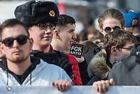 """Mehr als 15.000 Menschen demonstrierten am Samstag den 23. Maerz 2019 in Berlin gegen die geplante Reform des Urhebergesetz der Europaeischen Union und einen befuerchteten """"Upload Filter"""" im Internet. Sie befuerchten eine Zensur durch Unternehmen wie Youtube und Google.<br /> 23.3.2019, Berlin<br /> Copyright: Christian-Ditsch.de<br /> [Inhaltsveraendernde Manipulation des Fotos nur nach ausdruecklicher Genehmigung des Fotografen. Vereinbarungen ueber Abtretung von Persoenlichkeitsrechten/Model Release der abgebildeten Person/Personen liegen nicht vor. NO MODEL RELEASE! Nur fuer Redaktionelle Zwecke. Don't publish without copyright Christian-Ditsch.de, Veroeffentlichung nur mit Fotografennennung, sowie gegen Honorar, MwSt. und Beleg. Konto: I N G - D i B a, IBAN DE58500105175400192269, BIC INGDDEFFXXX, Kontakt: post@christian-ditsch.de<br /> Bei der Bearbeitung der Dateiinformationen darf die Urheberkennzeichnung in den EXIF- und  IPTC-Daten nicht entfernt werden, diese sind in digitalen Medien nach §95c UrhG rechtlich geschuetzt. Der Urhebervermerk wird gemaess §13 UrhG verlangt.]"""