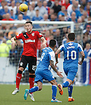 Danny Wilson clears the danger