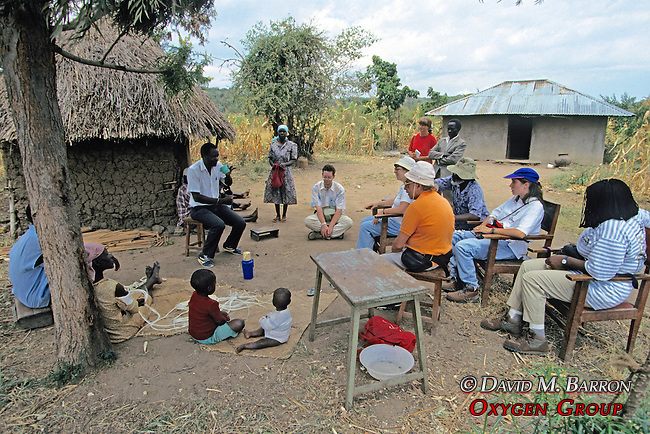 Talking With Local People