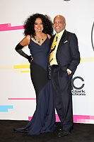 Diana Ross & Barry Gordy at the 2017 American Music Awards at the Microsoft Theatre LA Live, Los Angeles, USA 19 Nov. 2017<br /> Picture: Paul Smith/Featureflash/SilverHub 0208 004 5359 sales@silverhubmedia.com