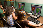 Education Elementary New Jersey public school grade 1 computer lab science class