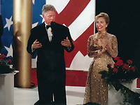 Washington, DC<br /> 1997 <br /> Bill &amp; Hillary Clinton<br /> Photo By John Barrett-PHOTOlink.net/MediaPunch