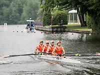 Henley Royal Regatta, Henley on Thames, Oxfordshire, 28 June - 2 July 2017.  Wednesday  09:21:31   28/06/2017  [Mandatory Credit/Intersport Images]<br /> <br /> Rowing, Henley Reach, Henley Royal Regatta.<br /> <br /> The Prince Albert Challenge Cup<br />  University of Virginia, U.S.A.