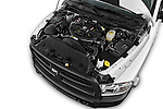 Car Stock 2016 Ram Ram-3500-Pickup Tradesman-Regular-cab 4 Door Pick-up Engine  high angle detail view