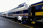 AK: Alaska Denali National Park, Railroad, Denali to Anchorage .Photo Copyright: Lee Foster, lee@fostertravel.com, www.fostertravel.com, (510) 549-2202.Image: akdena221.