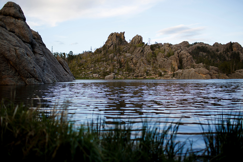 Sylvan Lake is pictured in Custer State Park in South Dakota on Sunday, May 21, 2017. (Photo by James Brosher)