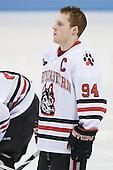 Tyler McNeely (Northeastern - 94) - The Northeastern University Huskies defeated the Boston College Eagles 3-2 on Friday, February 19, 2010, at Matthews Arena in Boston, Massachusetts.