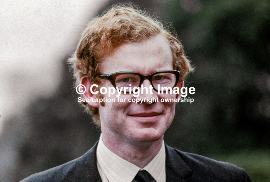 Robin Bailie, MP, Ulster Unionist, N Ireland Parliament, Stormont, 1970080307.<br />