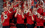 MADISON, WI - NOVEMBER 8: The band of the Wisconsin Badgers performs during the game against the Carroll College Pioneers at the Kohl Center on November 8, 2006 in Madison, Wisconsin. The Badgers beat the Pioneers 81-61. (Photo by David Stluka)