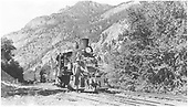#340 switching on Ouray Branch.<br /> D&amp;RGW  Ouray Branch, CO