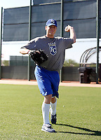 Buddy Baumann - AZL Royals (2009 Arizona League) .Photo by:  Bill Mitchell/Four Seam Images..