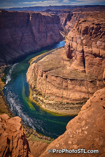 Grand Canyon National Park in Arizona, USA Horseshoe Bend of Colorado River in Arizona, USA