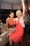 Lorna Dennis and Tina O Toole having a good night in Bru..Picture: Shane Maguire / www.newsfile.ie.