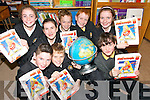 TOP OF THE CLASS: Sixth clas pupils at Anabla National School in Kilcummin who are taking part in a mathematics programme with Trale IT..Front L/r. Michael Fleming, Shane Moynihan, Denise Sheehan..Back L/r. Megan O'Neill, Shauna Looney, David Finn, Conor McCarthy and Elaine McGlynn.   Copyright Kerry's Eye 2008