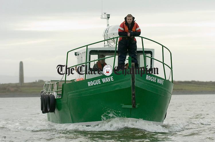 Cathal Blunnie of Lisroe Marine Services. Photograph by John Kelly.