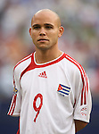 10 June 2007: Cuba's Alain Cervantes. The Panama and Cuba Men's National Teams tied 2-2 at Giants Stadium in East Rutherford, New Jersey in a first round game in the 2007 CONCACAF Gold Cup.