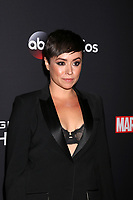 "LOS ANGELES - FEB 24:  Briana Venskus at ""Marvel's Agents Of S.H.I.E.L.D."" 100th Episode Party at Ohm Nightclub on February 24, 2018 in Los Angeles, CA"