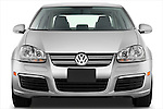 Straight front view of a 2009 Volkswagen Jetta TDI