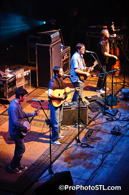 Yonder Mountain String Band in concert at The Pageant in St. Louis on May 9, 2009.